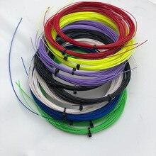2 pièces au détail MT-66 taiwan badminton raquette cordes 0.66mm en vrac Badminton cordes