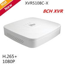Dahua-1080P enregistreur vidéo numérique   Écran 1U, penta-brid, 8 canaux, h.265 P2P, recherche intelligente pour système ip de vidéosurveillance