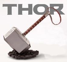 1:1 Thor marteau Mjolnir réplique Thor tirelire pièce de monnaie Costume Cosplay marteau Collection modèle jouet cosplay accessoires livraison directe