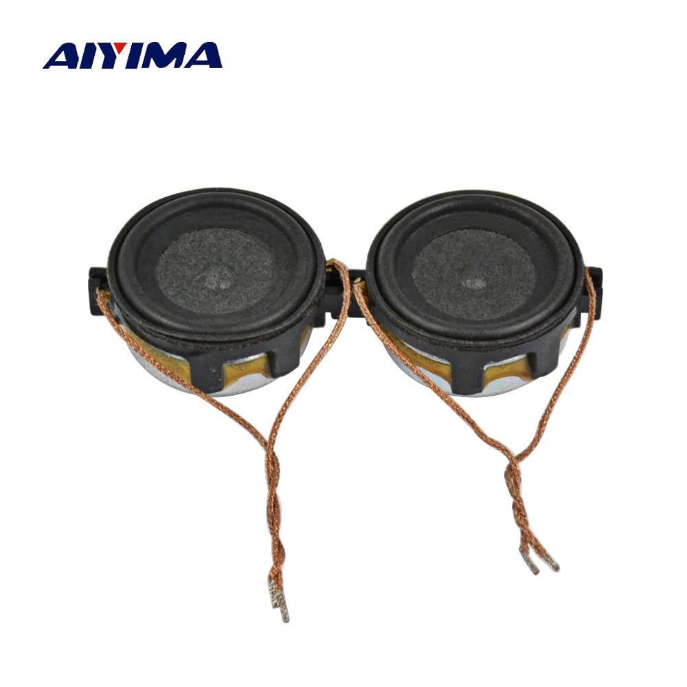 AIYIMA-minialtavoces portátiles para ordenador, Altavoz portátil de 20MM, 8 Ohm, 1W, para...