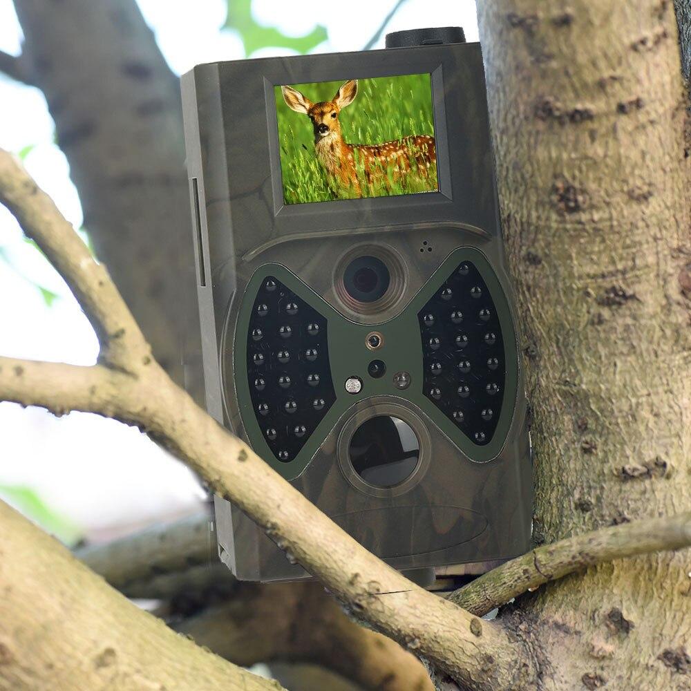 Wireless Wildlife Trail Camera Hunting Cameras HC300A 12MP Wild Surveillance Photo Traps  Basic Scouting Tracking