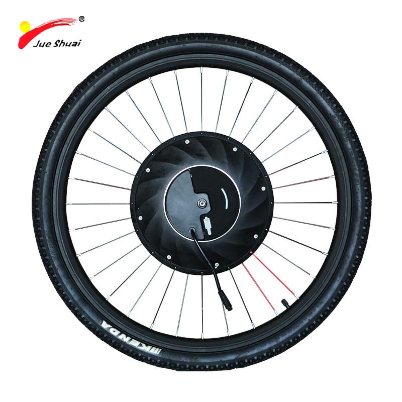 IMotor-Rueda de Motor eléctrico, Kit de conversión todo en uno de bicicleta...