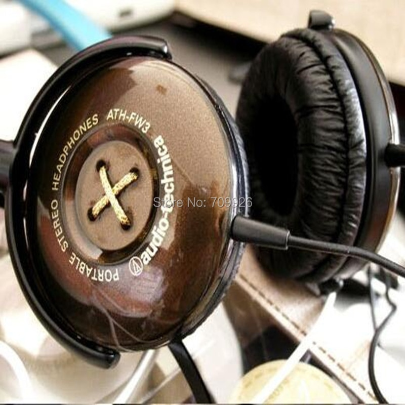 Linhuipad 5pairs=10pcs Durable Leatherette Ear Cushions 5cm Replacement Headset Earpads 50mm Fit on ATH-FW3 Airman 750