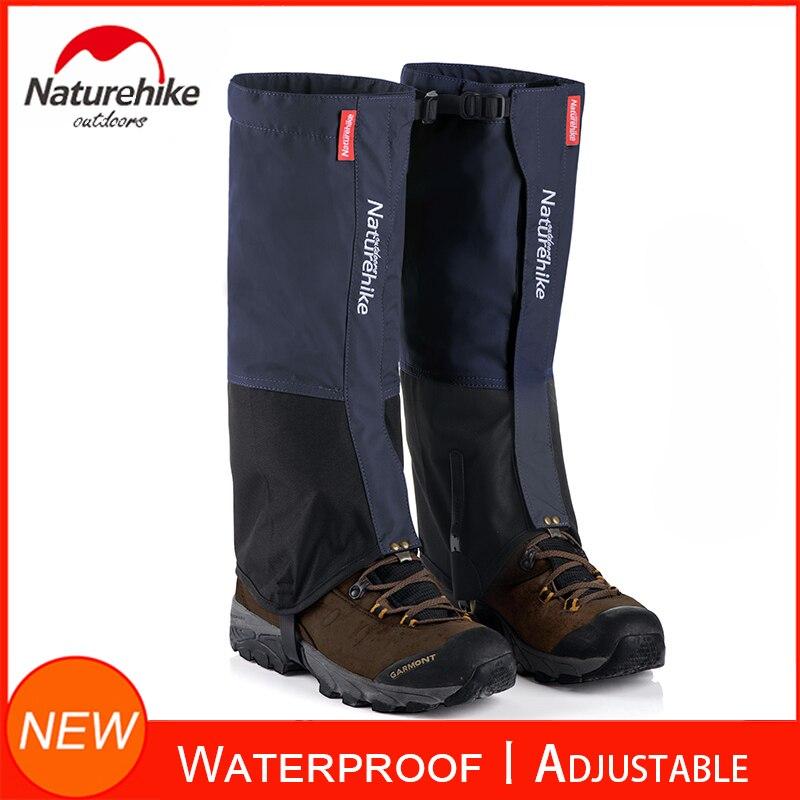 1 par de polainas de pierna de senderismo Anti-rasgado Nylon impermeable cubierta de pierna alta para la investigación al aire libre escalada pesca caza recortar hierba