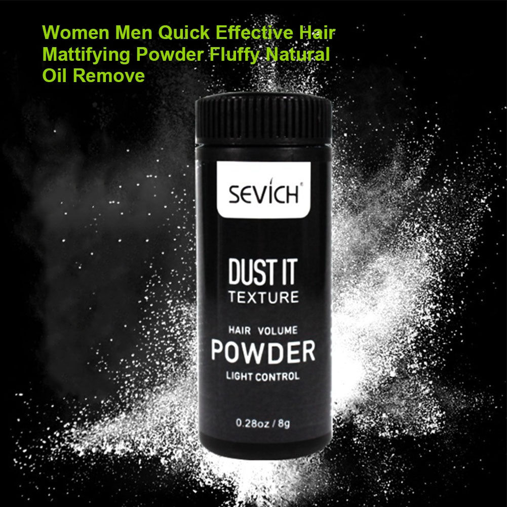 Women Men Fluffy Effective Modeling Oil Remove Quick Hair Mattifying Powder Refreshing Professional