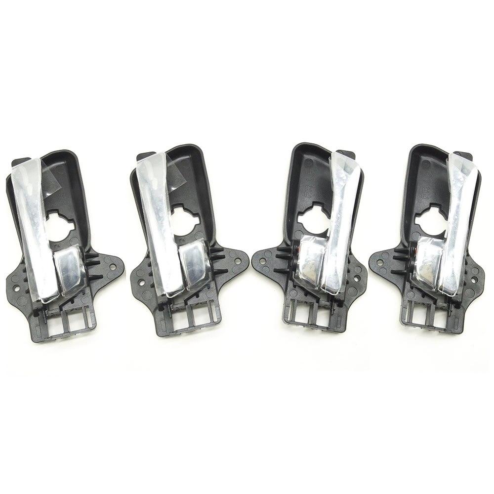 4pcs For Hyundai I30 2009 For Elantra 2008 Inside Door Handle Front Left For Elantra I30 2007 2008 2009 2010 2011 2012