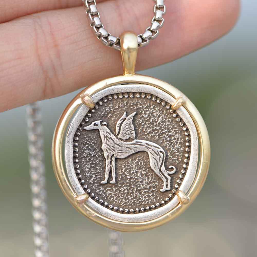 Ожерелье для мужчин, серое, с золотым наполнителем, из медного металла, A266