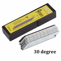 ehdis 50pcs carbon vinyl auto replacement blades 30 degree foil film car wrap cutter knife blade wrapping sticker accessories