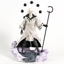 Naruto Shippuden Rikudo Sennin Uchiha Madara PVC Figure Statue modèle à collectionner jouet