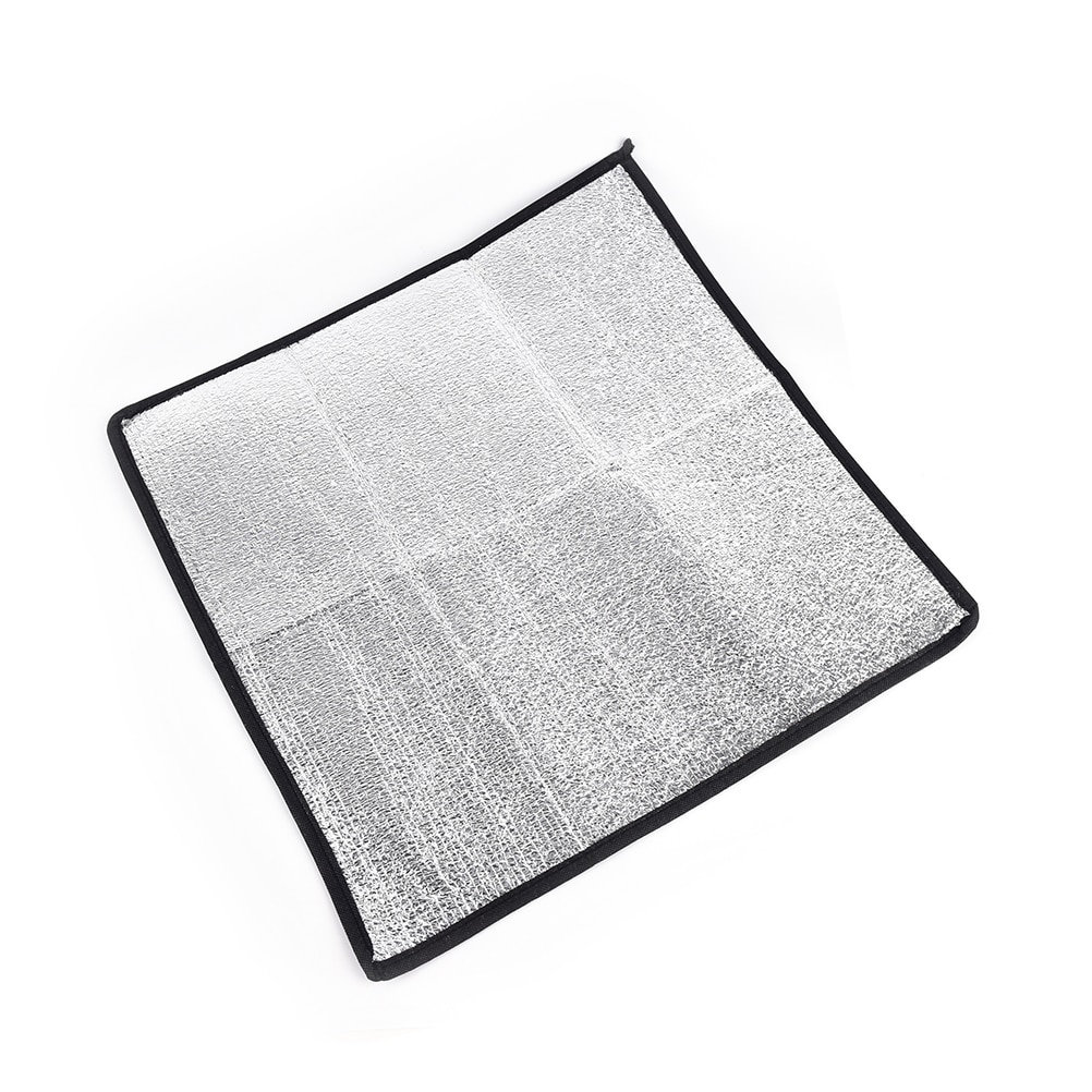 Manta de aluminio plegable EVA para Camping, colchoneta plegable para Picnic y playa, colchoneta para exteriores de 50*50*2019 cm, muy resistente al agua, 0,25