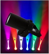 New Pinspot Spotlights Beam Varied Spot Stage Beam Lighting Lamp 3W LED Spot Light Discotic Beam DJ Stage Party Show Light