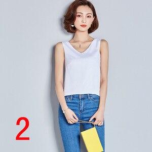 J41289 Новая мода 2019 летние рубашки с V-образным вырезом сексуальные женские рубашки