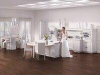 PVC/vinyl kitchen cabinet(LH-PV042)