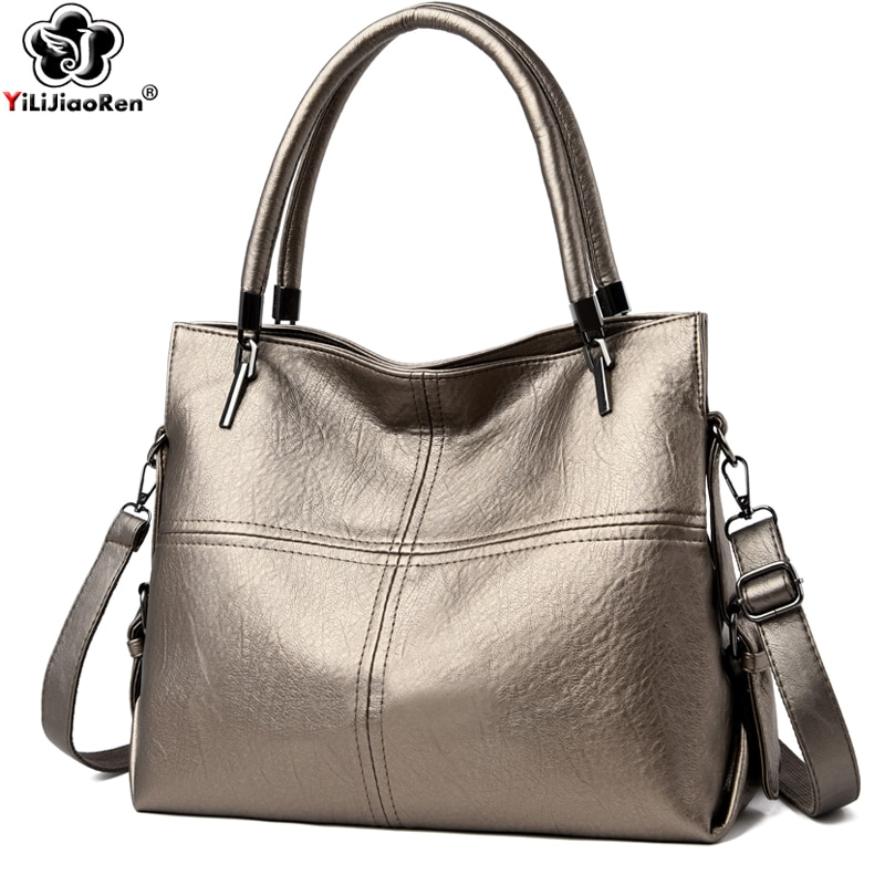 Casual Handbags Women Bags Designer Large Capacity Handbag Shoulder Soft Leather Luxury Crossbody Sac