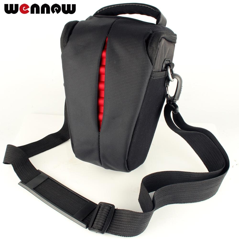 wennew Waterproof Camera Bag For Sony RX10 II RX10III DSC-RX10M3 M4 A500 A580 ILCE-7 RX10 IV AX30 AX40 AX53 Package AX33 HX400