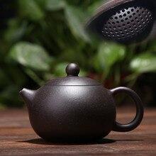 170ML yixing tee topf lila ton xi shi zisha teekanne erz schönheit chinesischen kung fu wasserkocher anzug puer schwarz tee mit geschenk box