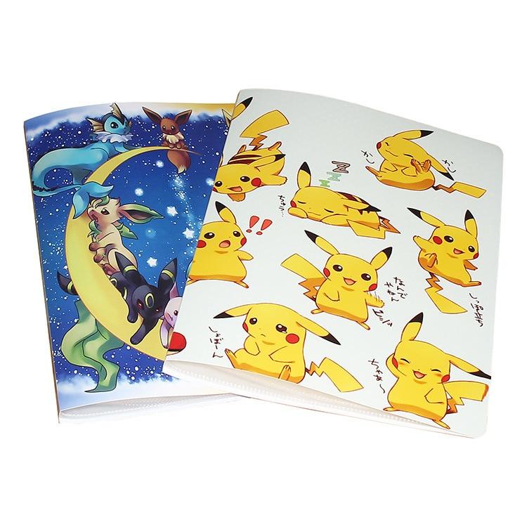 Альбом для покемонов с большой вместимостью, книга для покемонов с верхним объемом, игральные карты с держателем, альбом игрушек покемонов ...
