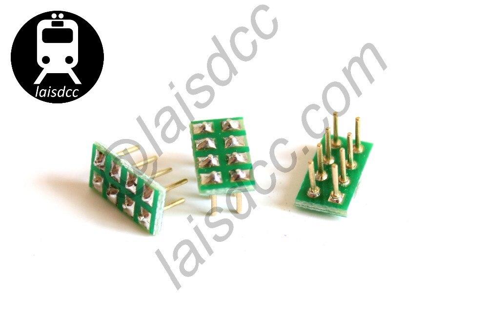 10 шт. штекер NMRA гнездо для NEM652 8PIN гнездо bulid-in DCC loco 860006/LaisDcc бренд