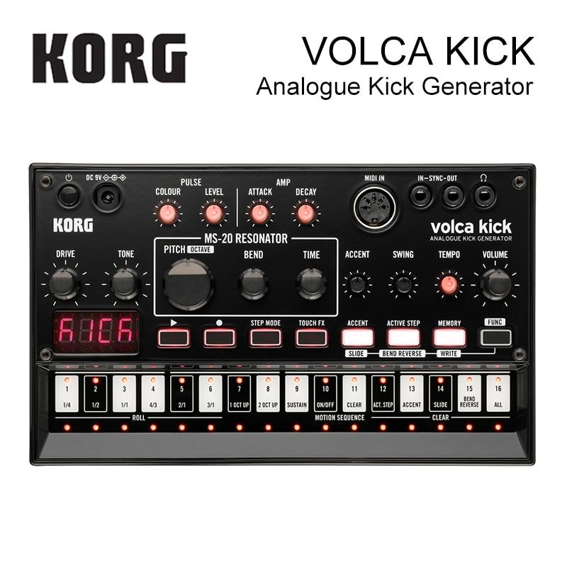 Korg Volca Kick-Key синтезатор аналоговый Kick генератор