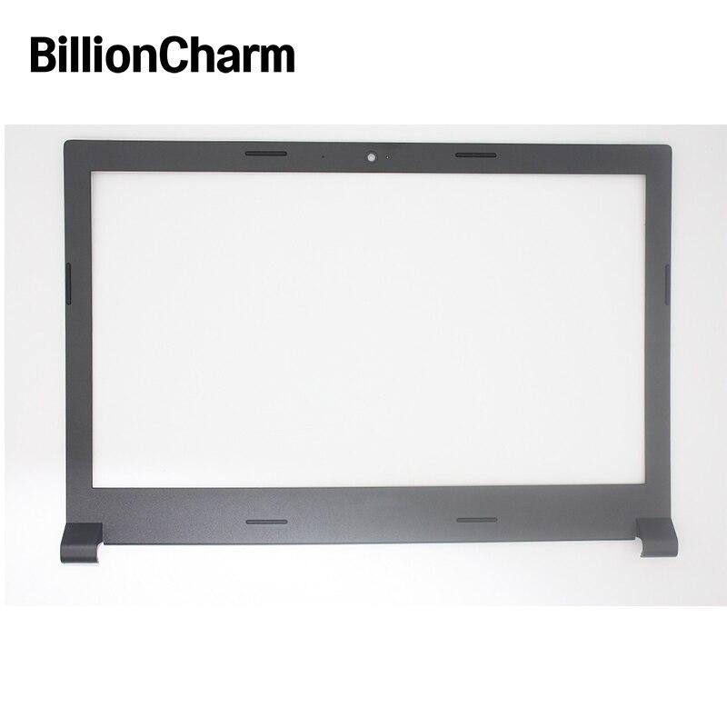 BillionCharm Novo LCD Moldura de Volta Para O Lenovo Ideapad 100-15 100-15IBY B50-10 Palmrest Caso Base Inferior Da Tampa Superior Preto e Cinza