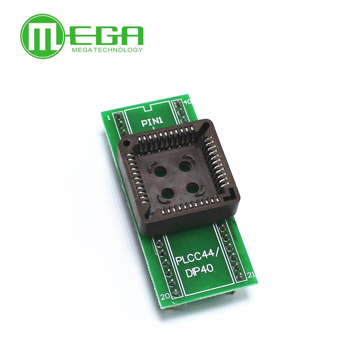 PLCC44 à DIP40 EZ programmeur adaptateur prise IC prise de Test