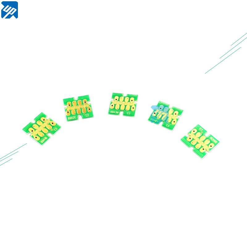 10 SETS nueva actualización T6941-T6945 Chip de cartucho para Epson SureColor de T3000 T3070 T5070 T7070 T3200 T5200 T7200 T3270 T5270 impresora