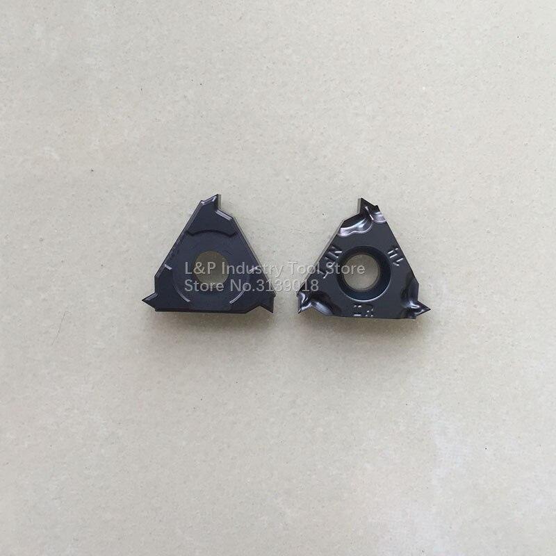 Novo original iscar rosqueamento inserções 16irm 14npt ic908 inserções de carboneto 16irm 14 npt ic908 lâmina de corte torno máquina ferramenta