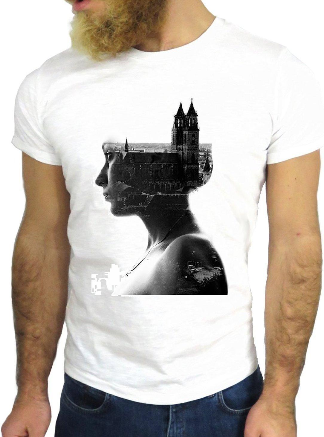 Mens Heißer 2018 Sommer Männer Kurzen Ärmeln T Hemd Z0923 Mädchen Stadt Coole Vintage Felsen Lustige Mode Cartoon Schönen Skater t-shirt