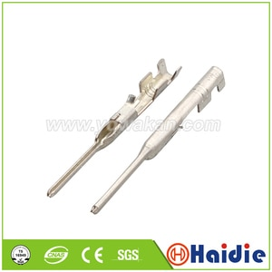 Free shipping 50pcs terminal for auto connector, crimp cable pins loose terminals DJ227-0.6A