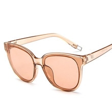 ZXRCYYL Cat eye sunglasses women men brand designer classic mirror oculos gafas de sol lunette femin