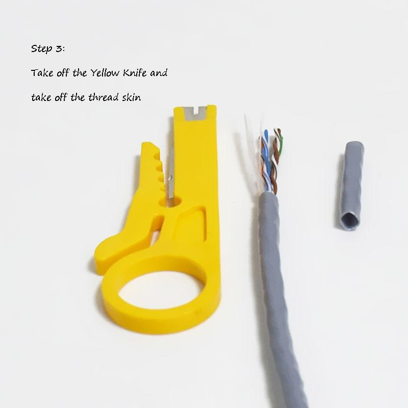 Hordozható huzal-leválasztó kés krimpelő - Kézi szerszámok - Fénykép 6