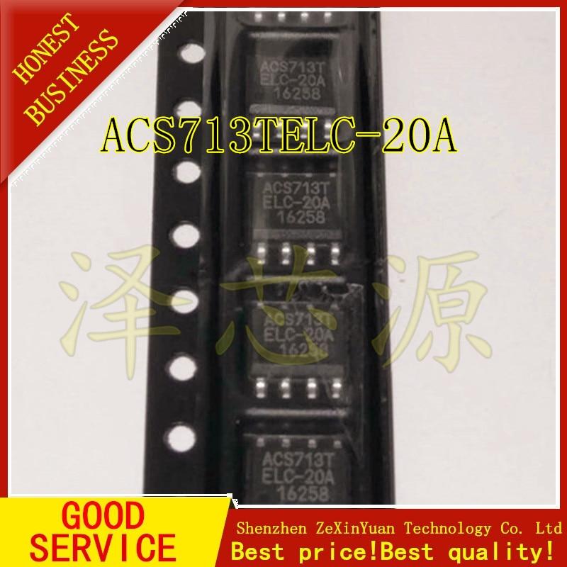 5 pçs/lote ACS713TELC-20A ACS713ELCTR-20A ACS713 SOIC8 ALLEGRO novo