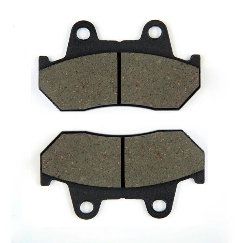 Pastillas de freno delantero para motocicleta SOMMET 1 par para Honda Magna VF 500 C (V30) (84-85)/VF 700 C (84-87)/VF 750 C (V45) (82-83) LT69