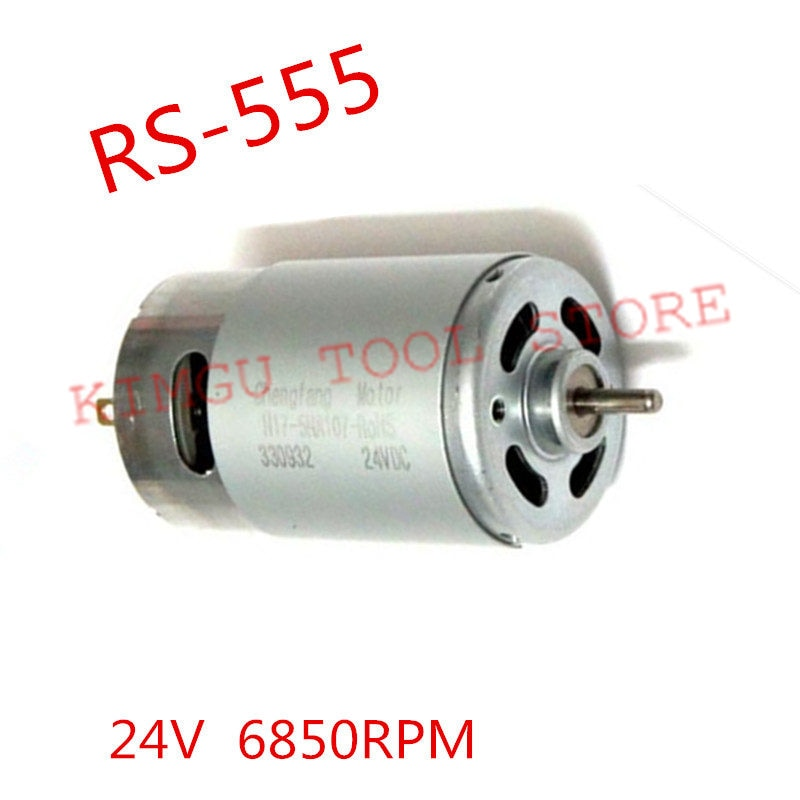 high torque motor 24V 555 RS-555 3200rpm DC permanent magnet DC motor with fan chang liang xia permanent magnet brushless dc motor drives and controls