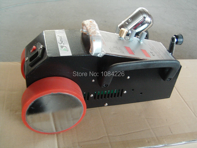¡Nuevo! soldador de pancartas de pvc de aire caliente barato/máquina soldadora de aire caliente para carteles pvc flexibles