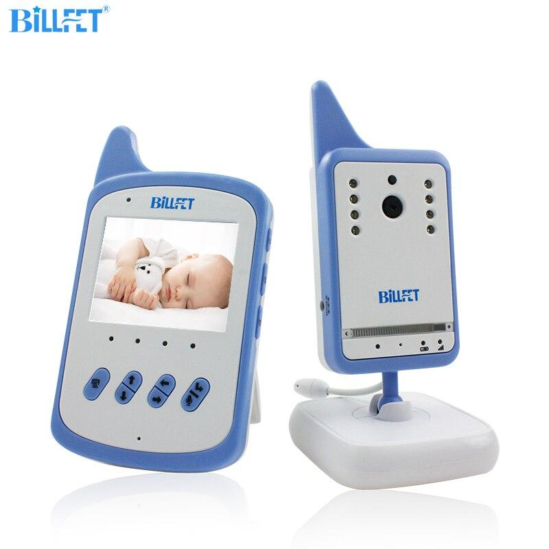 BILLFET Беспроводной 360 Видеокамера 2.4 дюймов ЖК Цифровой Видео Baby Monitor с Камерой VOX