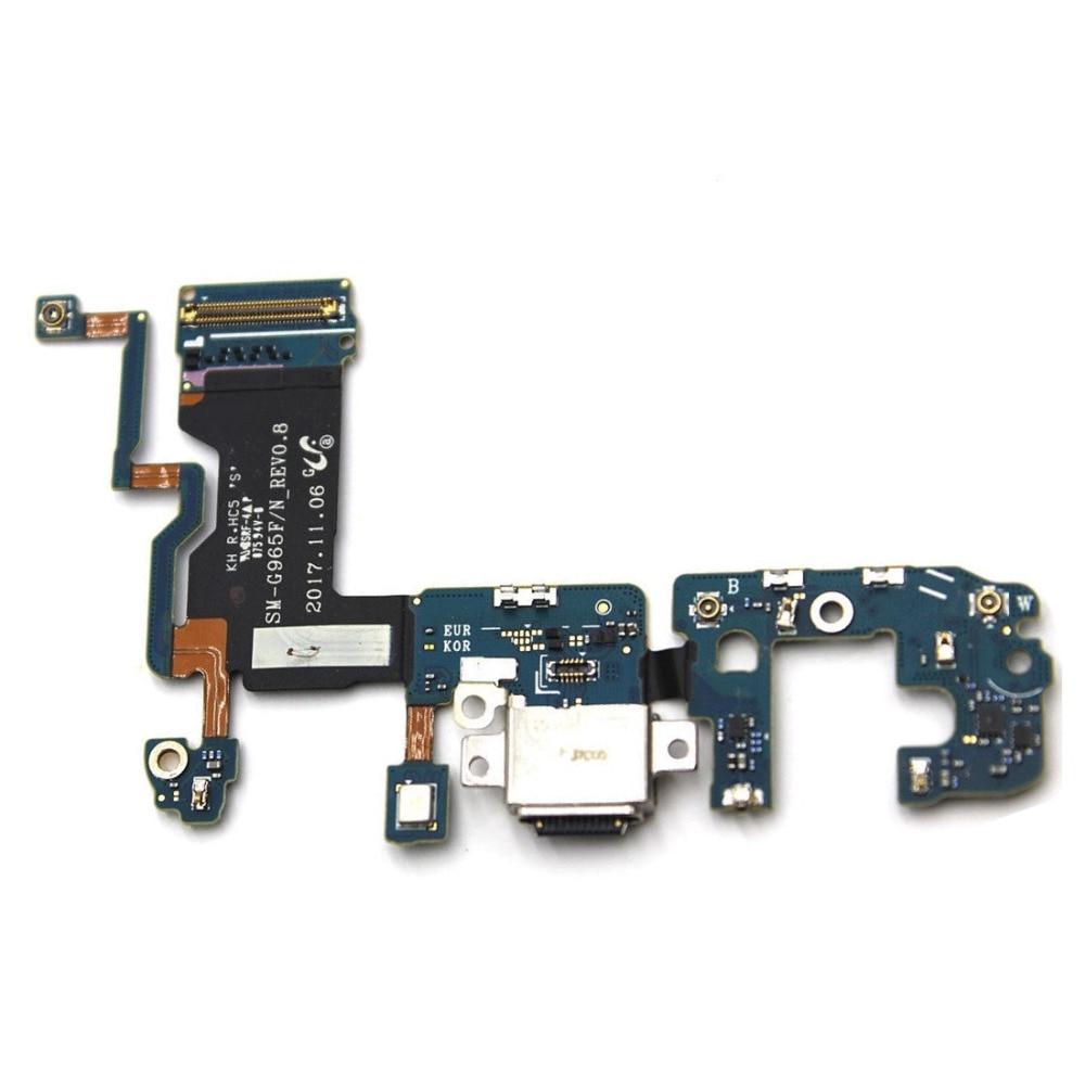 Para Samsung Galaxy S9 más G965F/N G965U G9650 carga puerto de carga Dock Connector Flex Cable