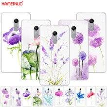Aquarelle fleur pissenlit Lotus lavande peinture étui de téléphone pour xiaomi redmi 5 4 1 1s 2 3 3s pro PLUS redmi note 4 4X 4A 5A