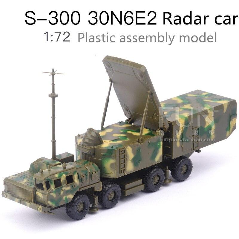 1 72 juguetes de lanzamiento de misil ensamblados de plástico, sistema de misiles tierra-aire S300 30N6E2 coche de Radar, juguetes educativos, envío gratis
