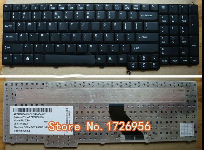 ¡Envío Gratis! Nuevo genuino para Acer Aspire 6930 serie 6930G teclado para ordenador portátil negro de EE. UU.