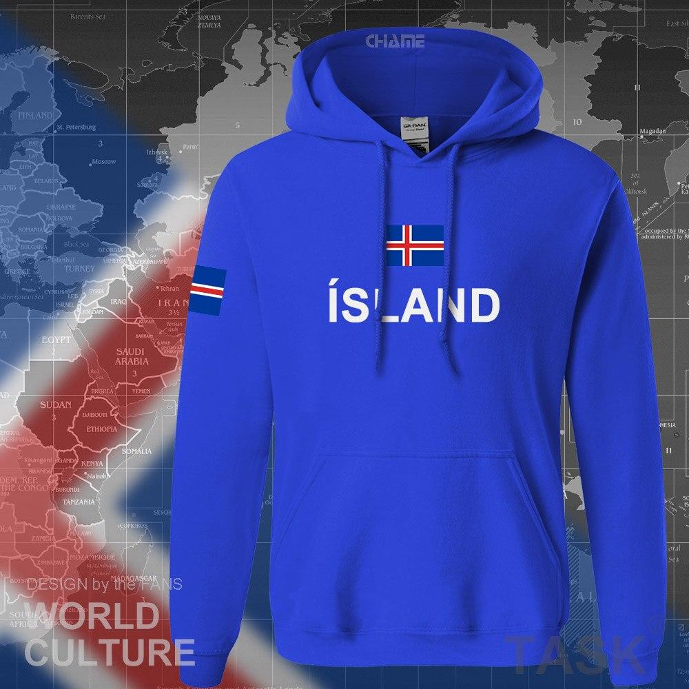 Island hoodie männer sweatshirt schweiß neue hip hop streetwear insel nation kleidung 2017 sporting land ISL Isländer Icelandic