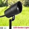 야외 방수 led 정원 스포트 라이트 12 v 3 w cob ip67 정원 grondspots 스파이크 잔디 빛 램프 트리 홍수 풍경 조명