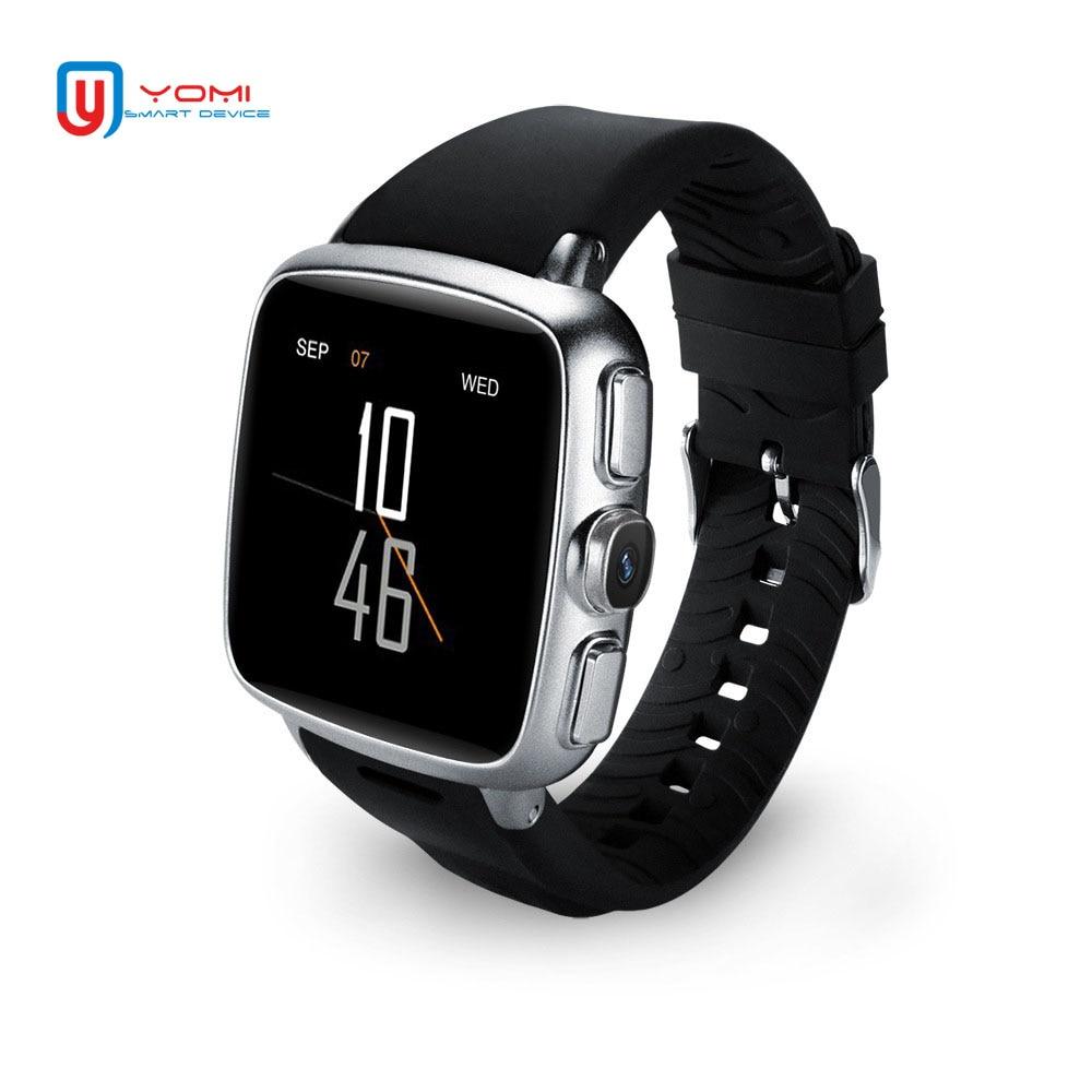 Reloj inteligente Android 3G impermeable Bluetooth GPS Fitness Tracker Smartwatch Push Message Cámara reloj pulsera para hombres y mujeres