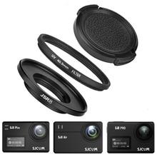 3in1 40.5mm UV Filter + Lens Cap + Adapter Ring for SJ8 Pro Air Plus UV Lens Cap Protector Cover SJCAM SJ8 Camera Accessories