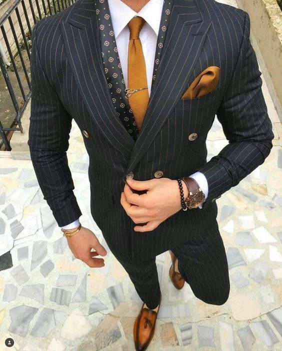Latest Pant Brasão Designs Ternos Dos Homens Double Breasted Blazer Formal de Tarja Preta Magro Personalizado 2 Peça MJ Jaqueta Terno Masculino