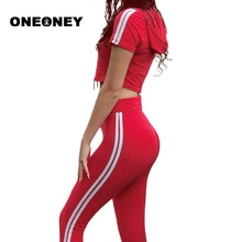 Femme Yoga ensemble rouge Fitness ensemble hauts à capuche + pantalon Long pantalon côté rayé rouge Fitness recadrée survêtement rouge Yoga pantalon sport ensemble