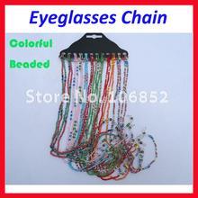 KMD004 lunettes de soleil perlées colorées   Lunettes de lecture, lunettes, cordon, chaîne, porte-corde