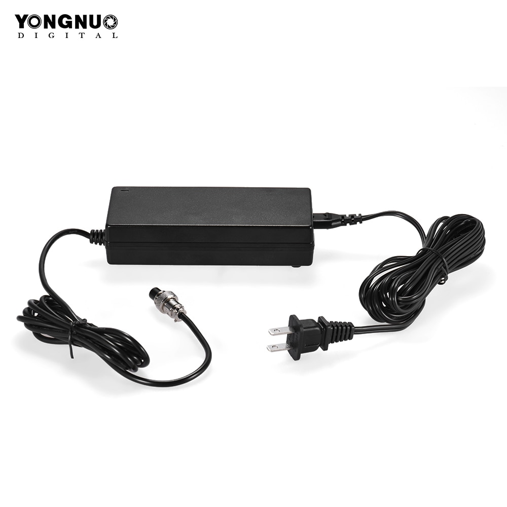 YONGNUO Стандартный импульсный адаптер питания зарядное устройство для YONGNUO YN760 YN1200 серия светодиодный видео светильник адаптер питания зарядное устройство