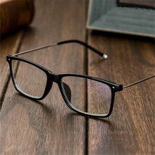 Myopia Glasses Men Business Myopic Eyeglasses Short sighted Eyewear Black Spectacles with Degree 1.0 1.5 2.0 2.5 3.0 3.5 4.0