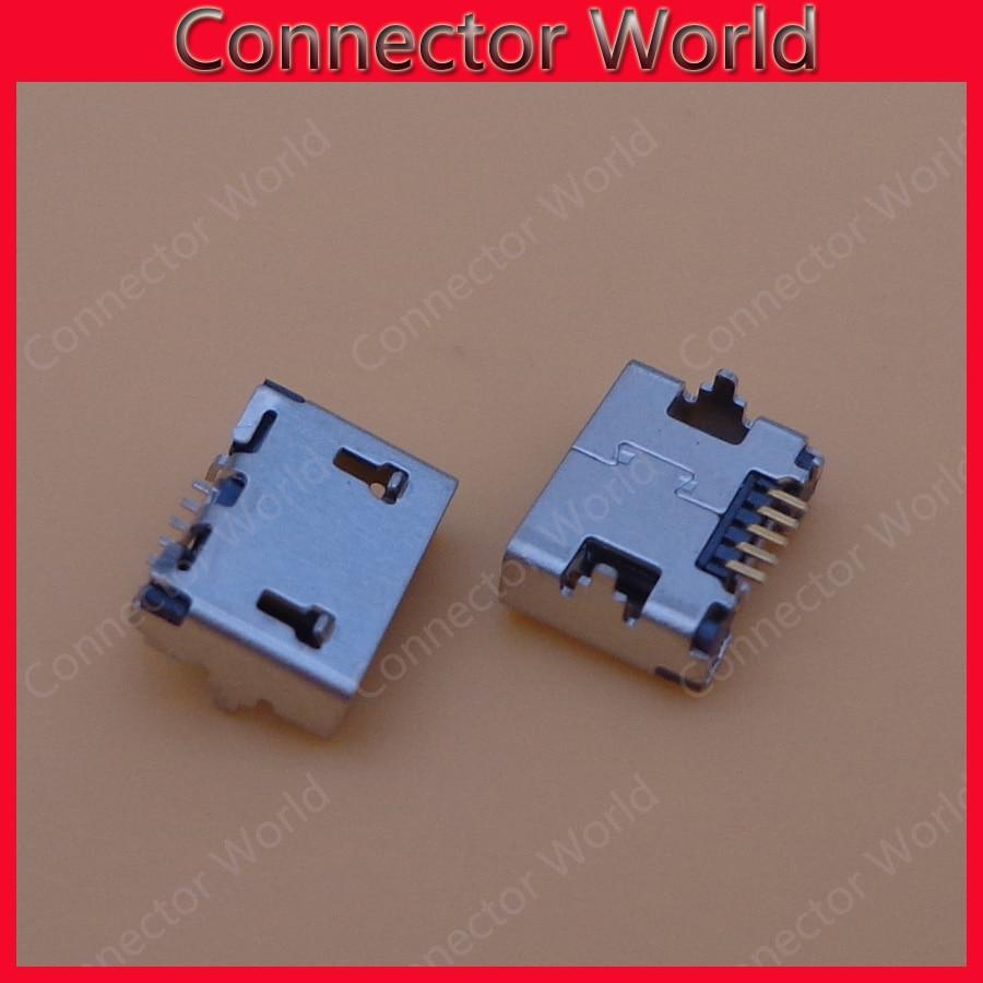5-100 Uds Micro USB 5 P, Mini Jack de 5 pines, Conector de cola de 5 pines puerto de carga hembra para Millet Letv Square mouth ox horn